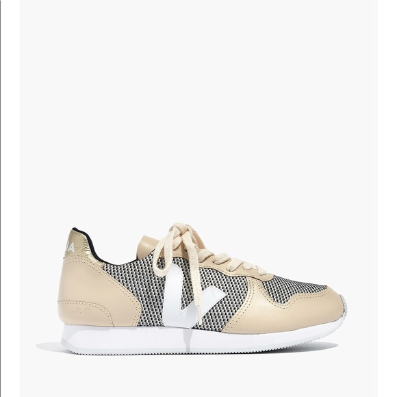 Nwt Low Sneakers Holiday Veja Top Mesh Gold Smart LSGVjzMUqp